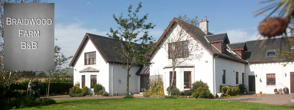 Braidwood Farm Bed and Breakfast near Penicuik